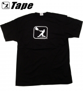 TAPE MUSIC - BAND LOGO SHIRT schwarz