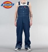 Dickies DUCK BIG OVERALL Latzhose in washed indigo